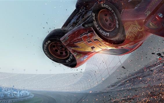 Wallpaper Cars 3, race car accident