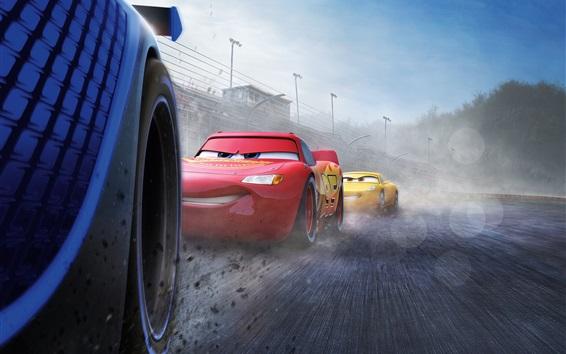 Fondos de pantalla Cars 3, velocidad de carrera