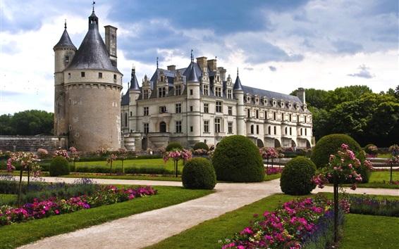 Wallpaper Castle of Chenonceau, France