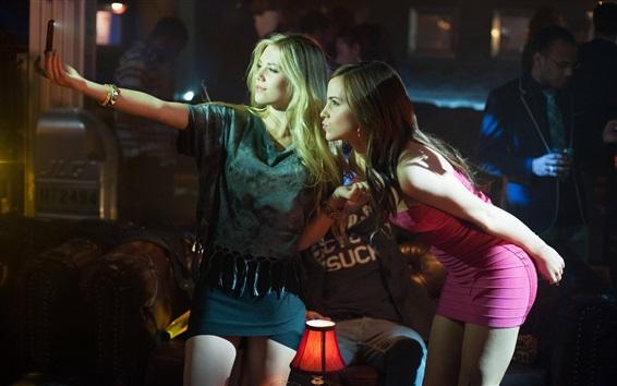 Fondos de pantalla Claire Julien, Emma Watson, selfie