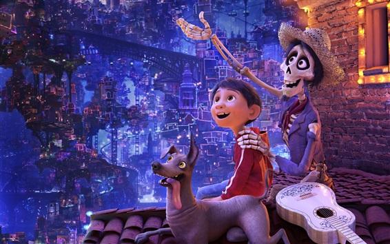Fondos de pantalla Coco, 2017 película de Disney