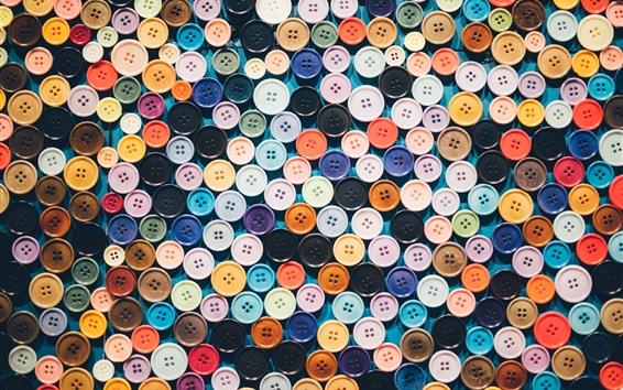 Papéis de Parede Fundo de botões coloridos