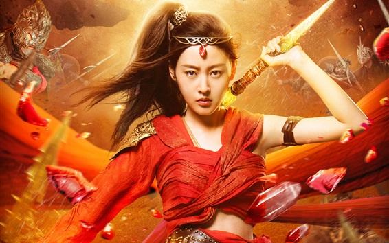 Fondos de pantalla Crystal Zhang, Universo Marcial