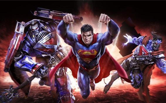 Papéis de Parede DC comics, Warner Games, Superman