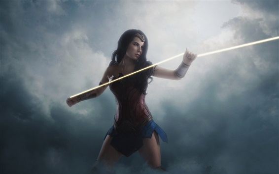 Wallpaper Diana, cosplay, armor, Wonder Woman
