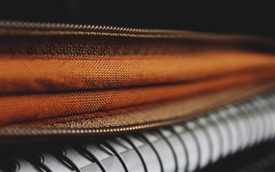 Wallpaper Fabric texture, zipper
