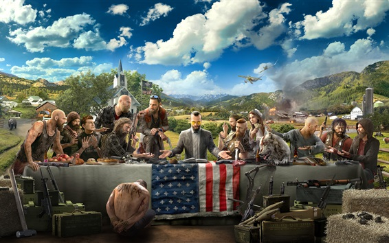 Fond d'écran Far Cry 5