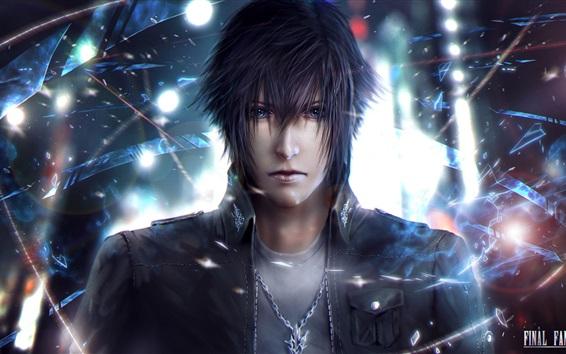 Обои Final Fantasy XV, парень, классические игры