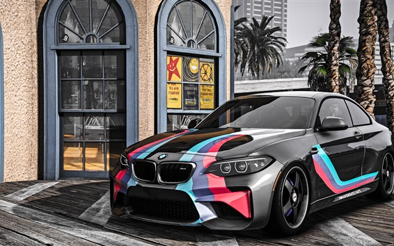 Wallpaper GTA 5, BMW M2 car