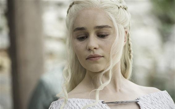 Papéis de Parede Game of Thrones, Uma Canção de Gelo e Fogo, Daenerys Targaryen