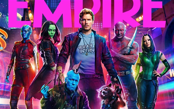 Wallpaper Guardians of the Galaxy 2, movie 2017 HD