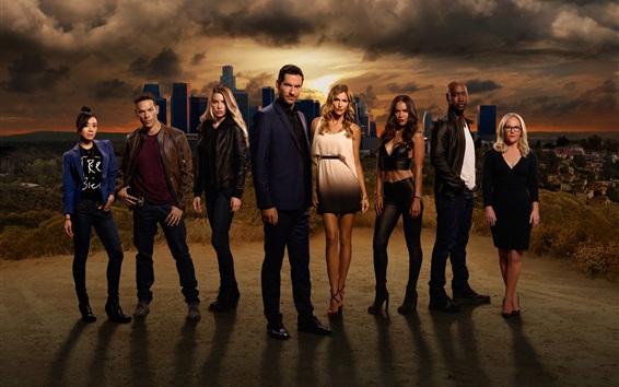 Wallpaper Lucifer, TV series