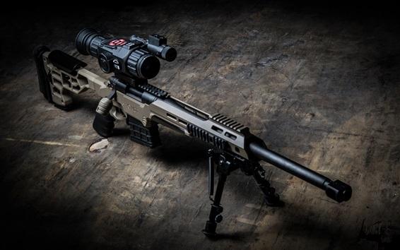 Wallpaper MDT sniper rifle, weapon