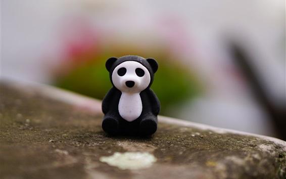 Wallpaper Panda toy
