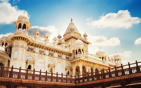 Обои Раджастхан, Джодхпур, Индия, мавзолей