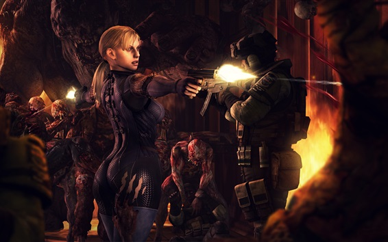 Fondos de pantalla Resident Evil, videojuegos