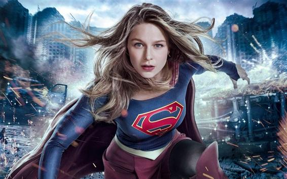 Papéis de Parede Supergirl, série de TV, super-herói