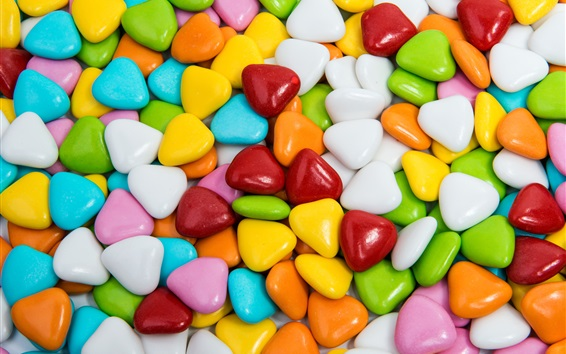 Wallpaper Sweet candy, colorful