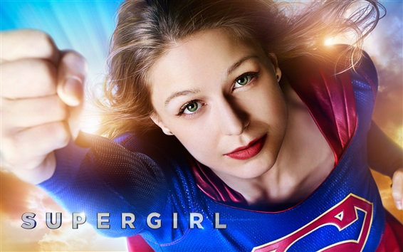 Papéis de Parede Série de TV, Supergirl, Melissa Benoist