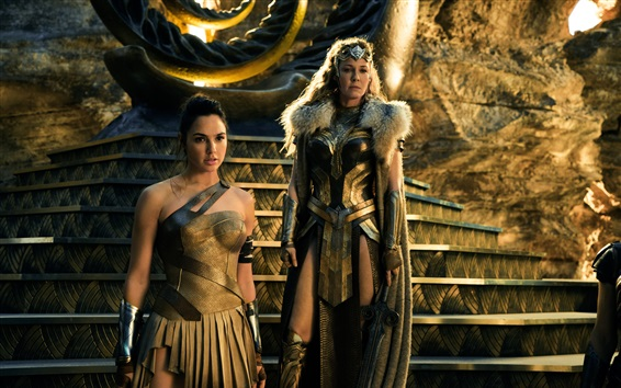Wallpaper Wonder Woman, Hippolyta, Gal Gadot