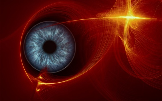 Wallpaper Abstract eye