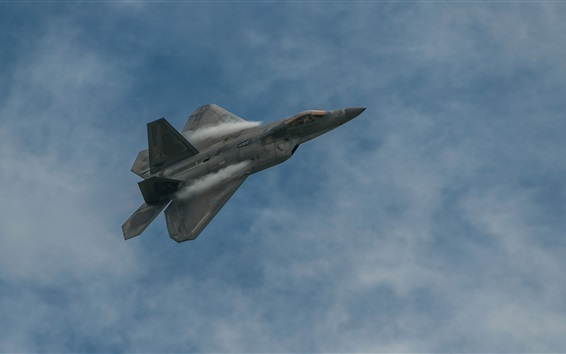 Wallpaper Boeing Raptor Lockheed F-22 fighter