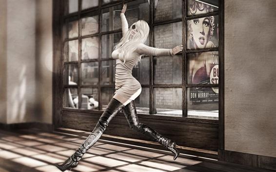 Fondos de pantalla Chica de baile, pose