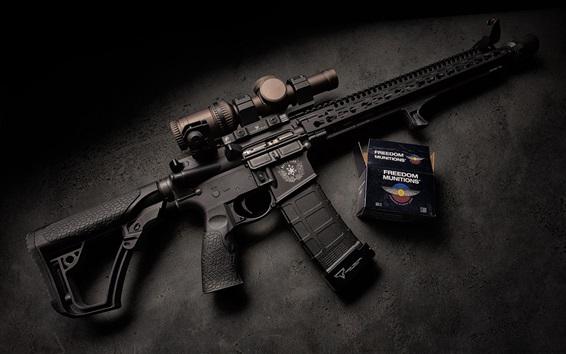 Wallpaper Daniel Defense, assault rifle