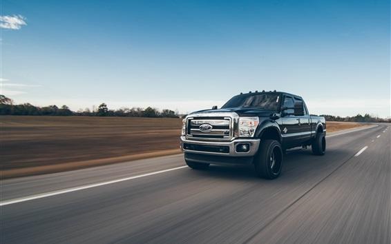 Обои Скорость пикапа Ford
