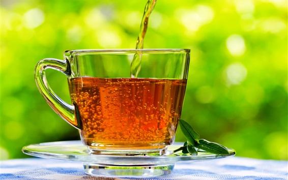 Wallpaper Glass cup, tea, drink