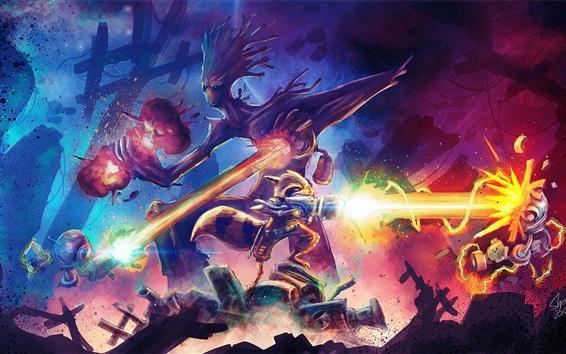 Fondos de pantalla Guardianes de la galaxia, imagen artística