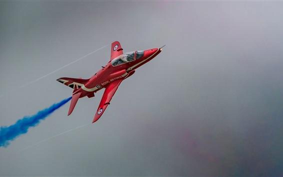 Wallpaper Hawk T1, Red Arrow aircraft