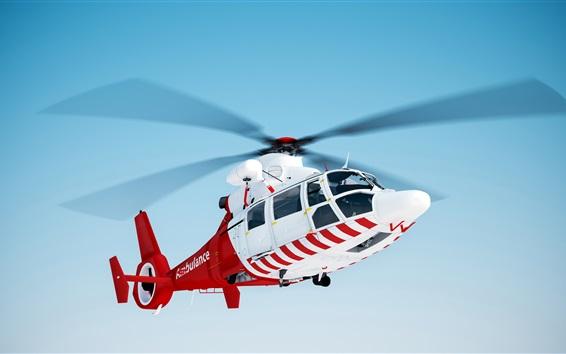 배경 화면 헬리콥터 구조