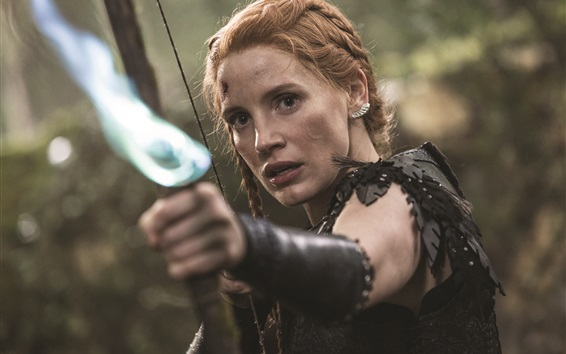 Wallpaper Jessica Chastain, The Huntsman: Winter's War