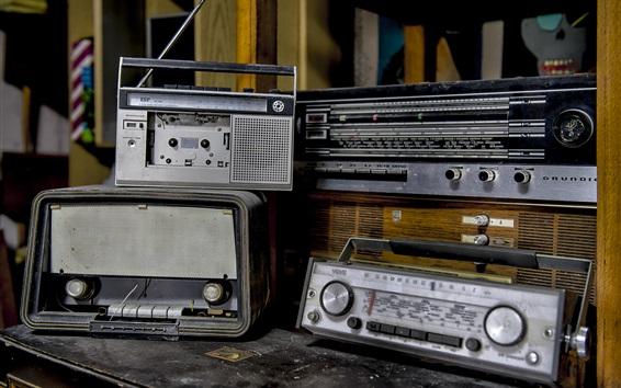 Fondos de pantalla Radio, grabadora, electrodomésticos viejos