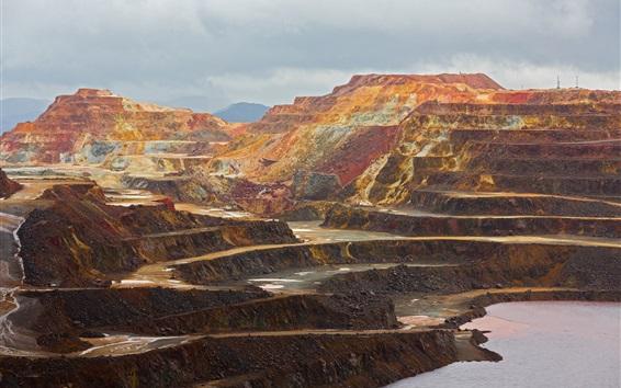Wallpaper Roads, mining, rocks
