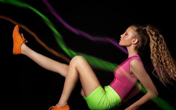 Wallpaper Sport girl, fitness