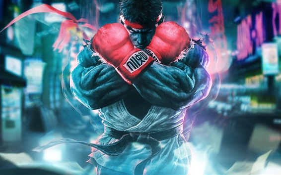 Papéis de Parede Street Fighter 5, jogos clássicos