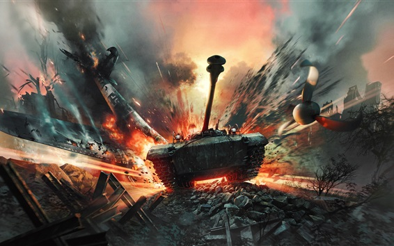 Wallpaper War Thunder, PC games, tank