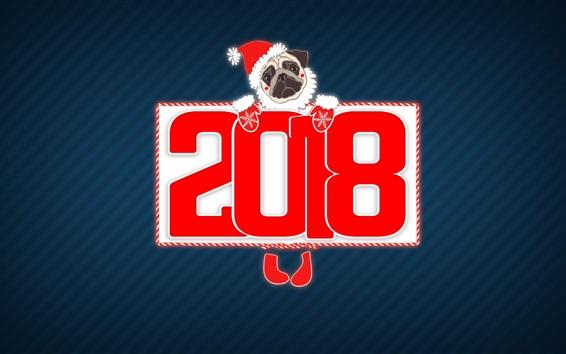 Fond d'écran 2018 année de chien