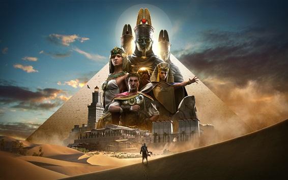 Papéis de Parede Assassin's Creed: origens, jogo quente