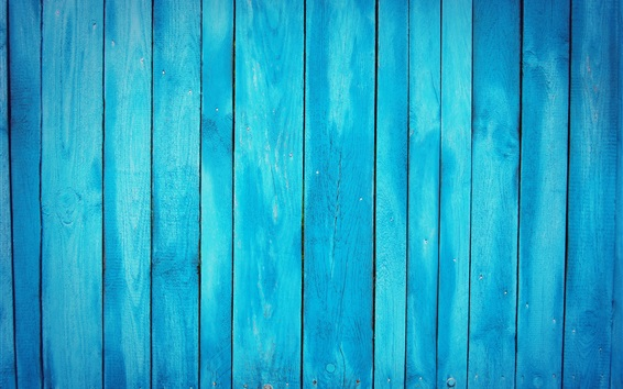 Wallpaper Blue wood board background
