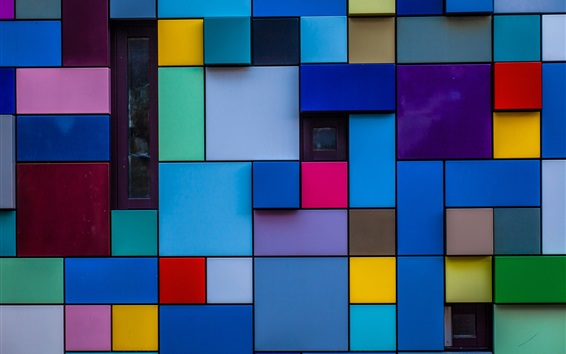 Wallpaper Colorful blocks