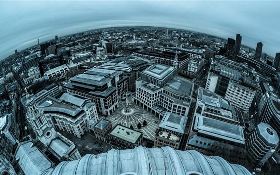 Wallpaper England, London, city panorama photography