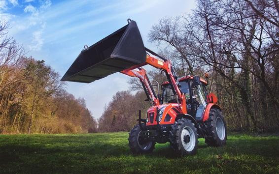 Fond d'écran Machines agricoles, tracteur