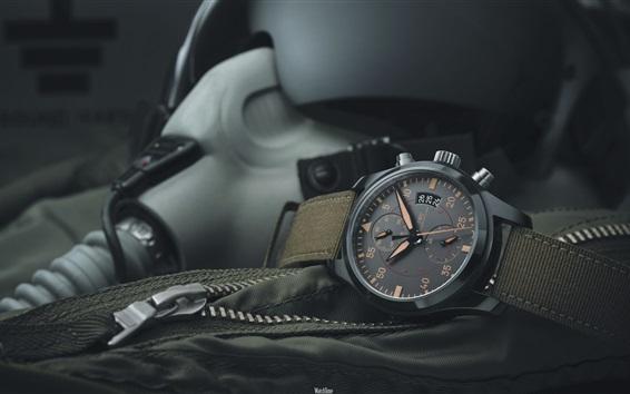 Wallpaper IWC black watch