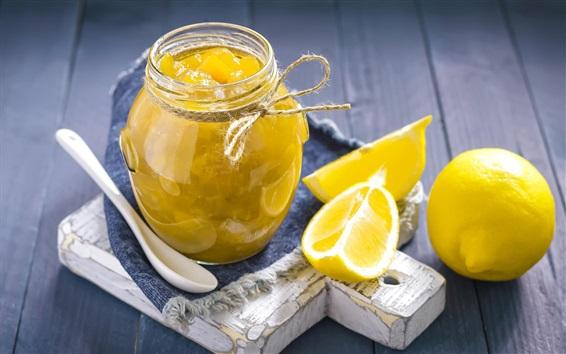 Wallpaper Lemon, jam