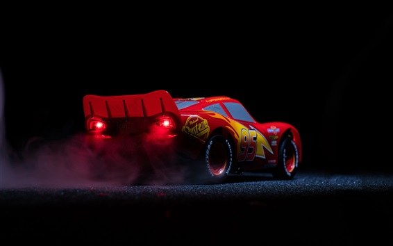 Fond d'écran Lightning McQueen, Cars 3, film d'animation Disney