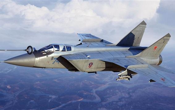 Fond d'écran MiG-31B chasseur-intercepteur