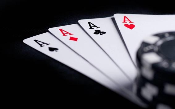Wallpaper Poker card